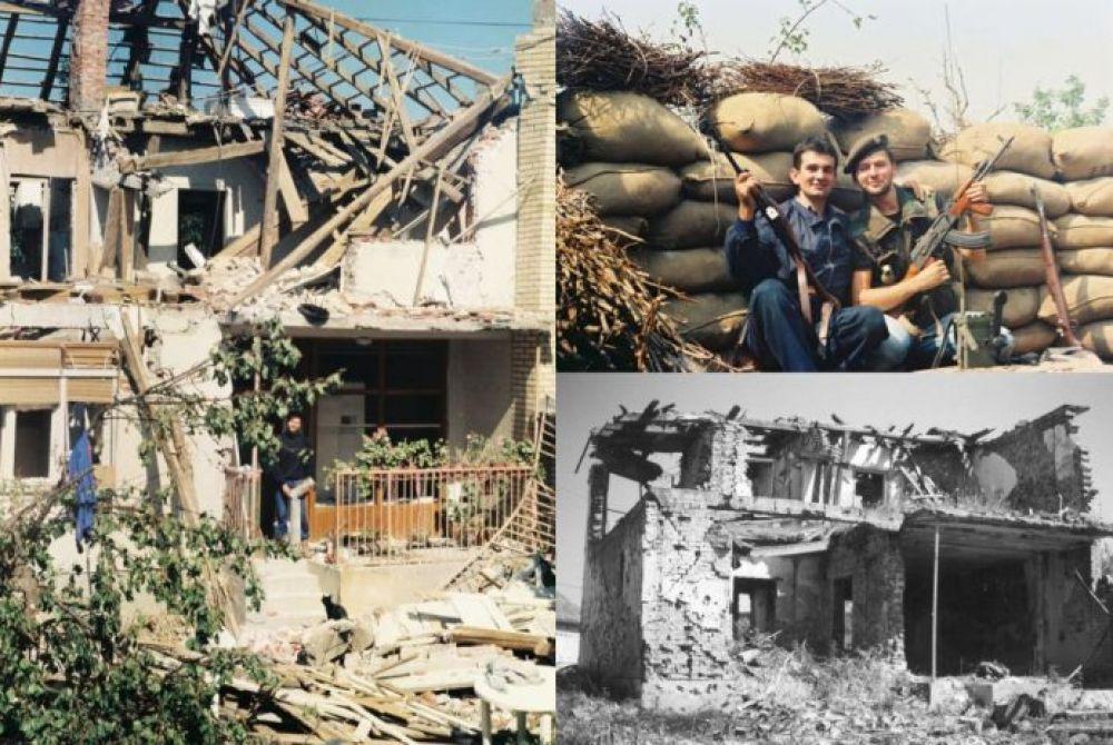 (FOTO) Damir Plavšić: Bitka za Vukovar, Sajmište – istinita ratna priča o porušenoj kući, 'Prsanu' i zrakoplovima