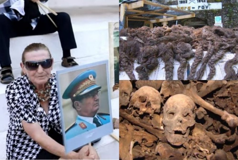 Titovi sljedbenici ponižavaju žrtve partizanskih zločina: Psovali na spomen pletenica u Hudoj jami