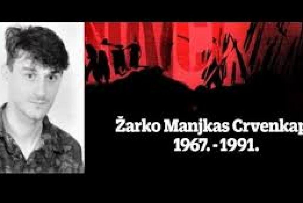 Posljednji ispraćaj i ukop identificiranih posmrtnih ostataka hrvatskog branitelja iz Domovinskog rata Žarka Manjkasa