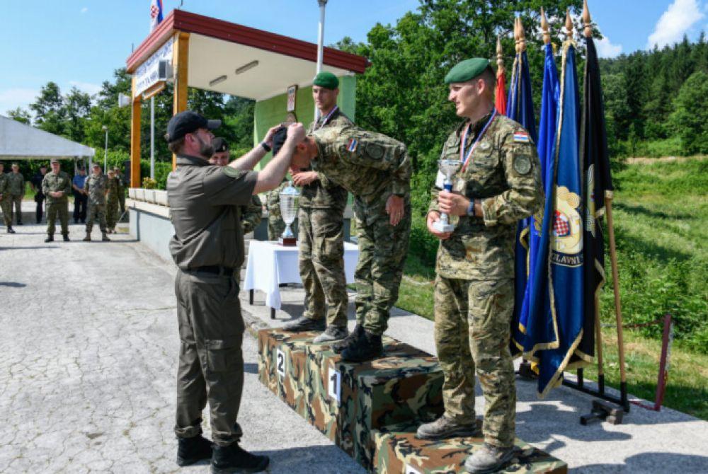Satnik Ivan Gerenčir pobjednik natjecanja 'Prvi za Hrvatsku 2021.'