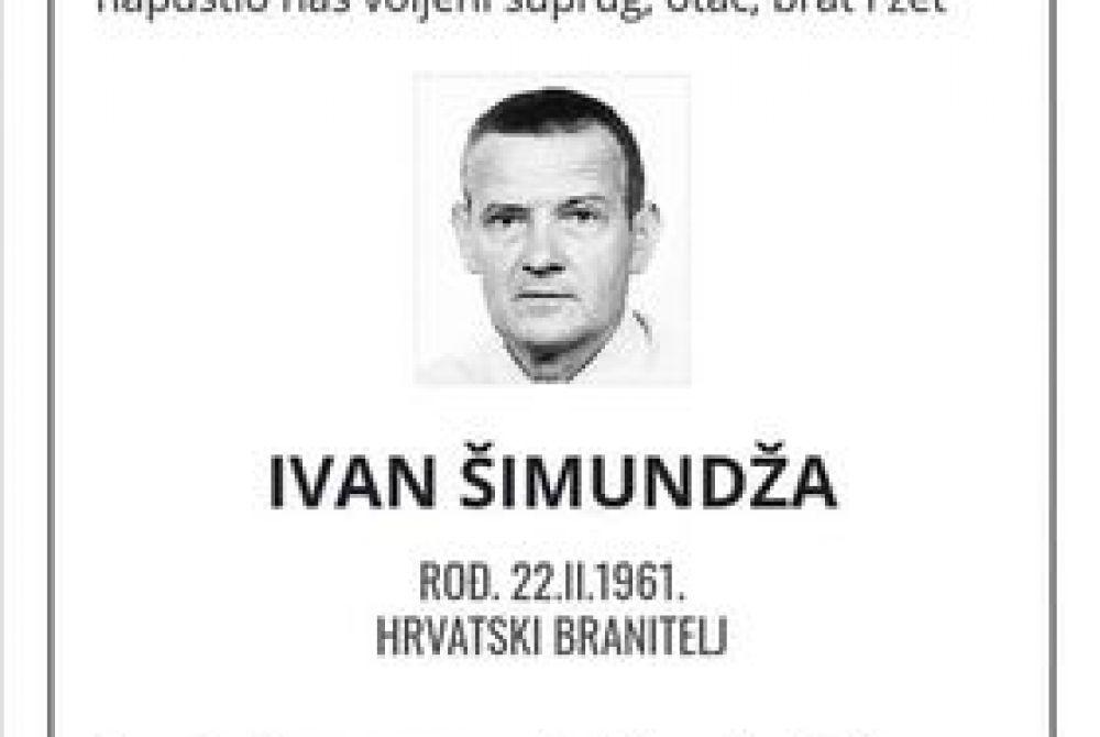 Posljednji pozdrav ratniku -  Ivan Šimundža
