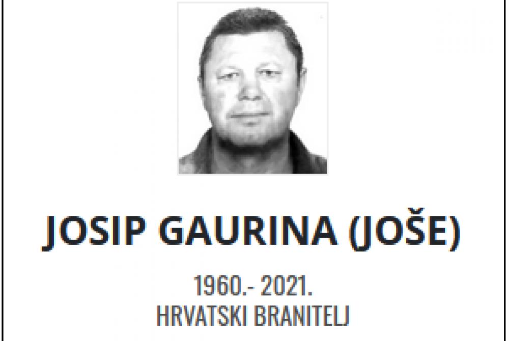 Josip Gaurina - Hrvatski branitelj 1960. - 2021.