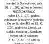 Nedžad Karalić - Hrvatski branitelj 1970. - 1992.