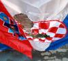 Labrović usred Zagreba spalio hrvatsku zastavu