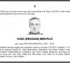 Posljednji pozdrav ratniku - Ivan (Dragan) Brstilo