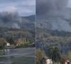 VIDEO Srpski vojni avion srušio se kod Drine, pogledajte