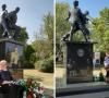 Postavljen spomenik 'Otac i sin' za oca i najmlađu žrtvu Ovčare