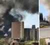 Buktinja u Valpovu: 40 vatrogasaca bori se s požarom