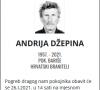 Andrija Džepina- Hrvatski branitelj 1957. - 2021.