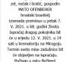 Mato Ofenbeher - Hrvatski branitelj 1953. - 2021.
