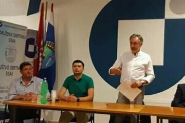 Domovinski pokret Miroslava Škore sa svojim koalicijskim partnerima okupio se jučer u VI. izbornoj jedinici u Sisku