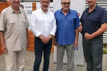 Željko Sačić: Dragi i dobri prijatelji, prijateljice, dame i gospodo, hrvatski ratnici, heroji, ratni pobjednici, marljivi,odgovorni i čestiti hrvatski ljudi ,hvala vam svima za ugodne trenutke druženja ......