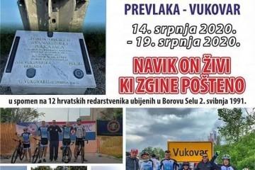 3.biciklistički maraton Prevlaka - Vukovar (Ilok)