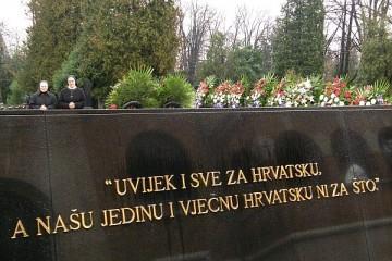 Obilježavanje 20-te godišnjice pokoja dr. FRANJE TUĐMANA, prvog hrvatskog predsjednika