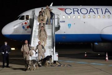Pripadnici 11. hrvatskog kontingenta vratili se iz Afganistana