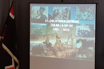 Obilježena 27. godišnjica ustroja splitskih postrojbi 158. brigade HV i 6. domobranske pukovnije