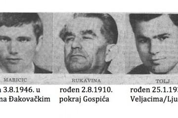 In memoriam - Mile Rukavina, Krešimir Tolj i Vid Maričić