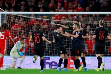 Hrvatska nogometna reprezentacija osvojila je bod protiv Walesa