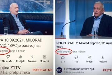 Bez komentara: Popović u Bujici - 76.000! Popović u Nu2 - 39.000!