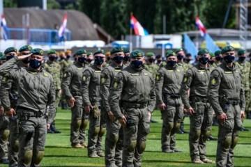 Na stadionu u Kranjčevićevoj generalna proba za 30. obljetnicu Hrvatske vojske