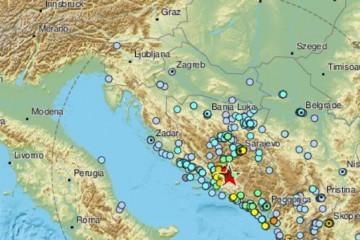 Osjetio se i u Dalmaciji: 'Tresli se prozori, micao se namještaj'