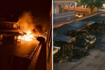 Požar na Opatovini kod Dolca: 'Popucali su nam svi prozori'