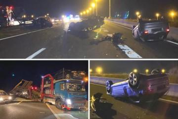 Zadar: Pijanom vozaču iz BiH auti poispadali na autocestu!