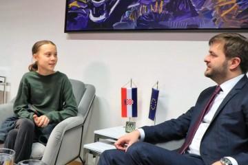 Ministar Ćorić pričao s Gretom: 'Ja ne bih trebala biti ovdje'