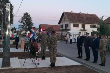 Spomen obilježje u znak sjećanja na poginule mještane Bokšića