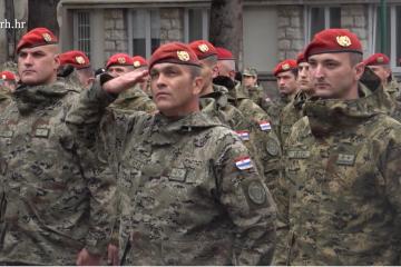 Banožić u Kninu: Crvene beretke podsjetnik kako je nastala 4. brigada i Hrvatska