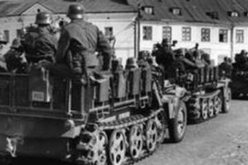 Staljin s Hitlerom u napadu na Poljsku