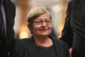 Vesna Bosanac : Udruga hrvatskih liječnika dragovoljaca daje podršku u drugom krugu gospođi Kolindi Grabar - Kitarović na predsjedničkim izborima