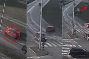 Video: Karlovački divljak koji je izletio s ceste dobio je prijavu