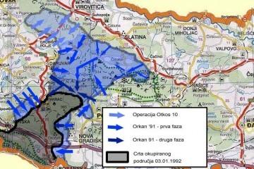 Vojne operacije u zapadnoj Slavoniji – akcija Velebit (1991.)