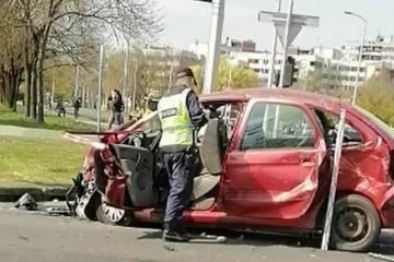 Nesreća u Zagrebu: Ozlijeđeno troje ljudi, prevezli ih u bolnice