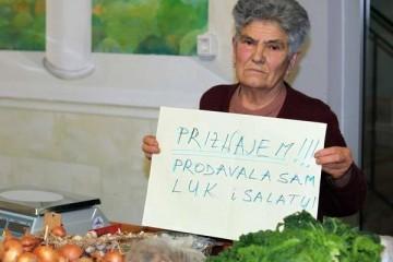 'SUD ME KAZNIO KAO DA SAM DILALA DROGU': Baki opalili kaznu od 18.500 kuna jer je prodavala češnjak i peršin