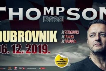 Thompson najavio besplatni koncert za branitelje u Dubrovniku na Dan dubrovačkih branitelja!