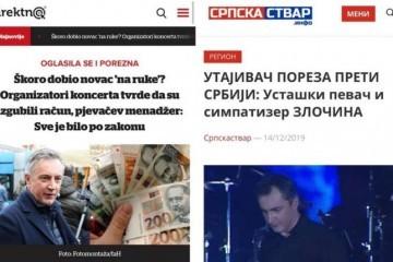 SKANDALOZNO: Portal Direktno.hr preuzeo srpske laži protiv Škore?!