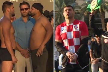 Hrga na vaganju u hrvatskom dresu, Molina se pravio važan