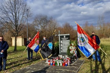 NISU ZABORAVLJENI! U ŠPANOVICI Odana počast četvorici pripadnika 123.brigade HV-e. Napustili su fakultet i posao i išli braniti Hrvatsku!
