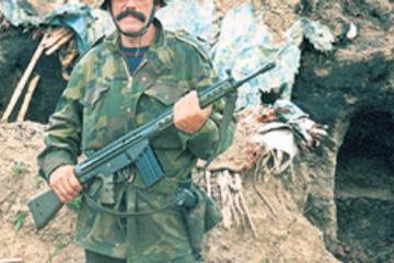 """Štraseri"" - Jedinica dragovoljaca osnovana 3.10.1991."