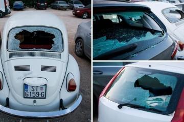 Split: Razbio 21 auto, uhvatili ga na biciklu s 1,7 promila