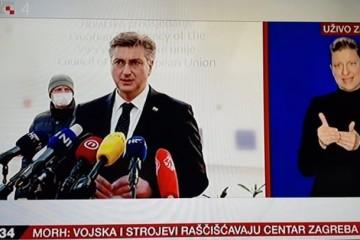 Zagreb pogodilo 30 potresa. Plenković: Budite oprezni