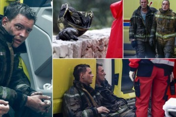 Heroji požara: Ovo su junaci koji su gasili buktinju u Splitu