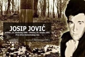 Ministar hrvatskih branitelja Tomo Medved sudjelovat će na obilježavanju 30. godišnjice pogibije Josipa Jovića