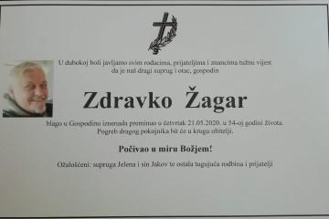 Posljednji pozdrav - Zdravko Žagar