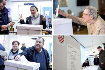 Kiša nije obeshrabrila birače: Izašlo ih čak 100 tisuća više!