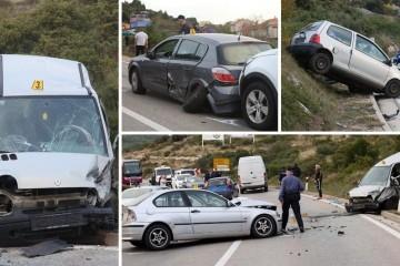 Dijete ozlijeđeno u sudaru u Njivicama prebacili su u Split