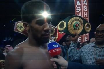 Anthony Joshua ponovo je teškaški prvak svijeta!