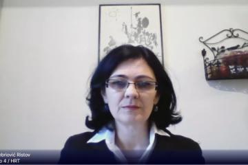 Ambriović Ristov cijepljena AstraZenecom, objasnila zašto ne treba odbijati to cjepivo